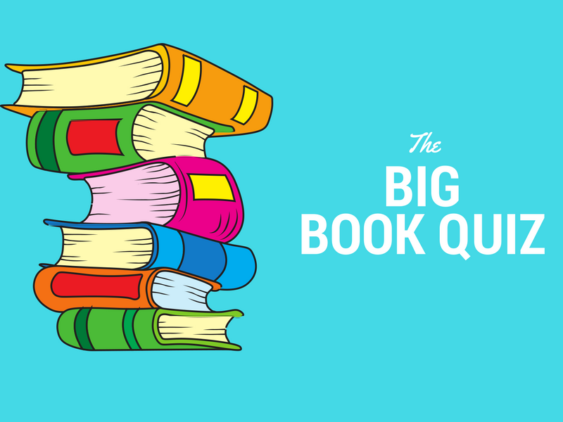 Quiz Book Cover Design ~ The big book quiz by readingresourcesforteachers