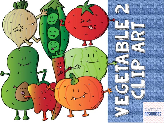 Vegetables 2 clip art