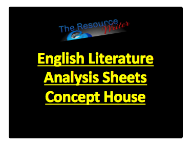 Literature Analysis Sheets Concept House