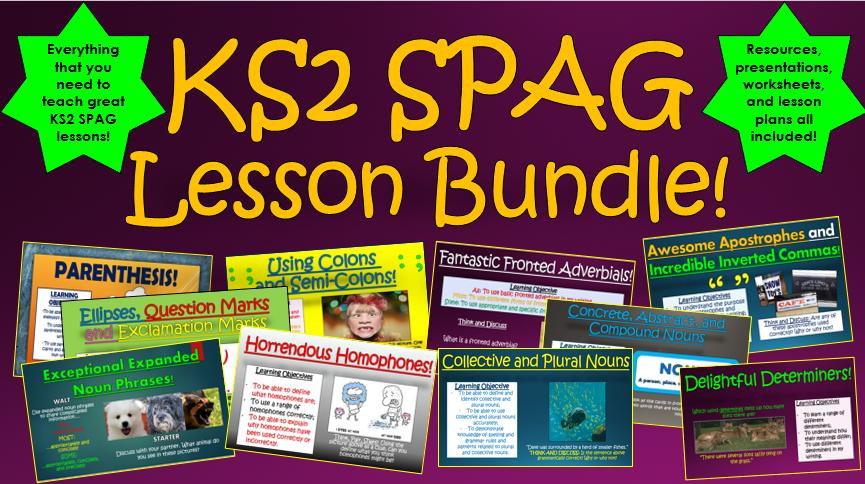 KS2 SPAG Bundle!