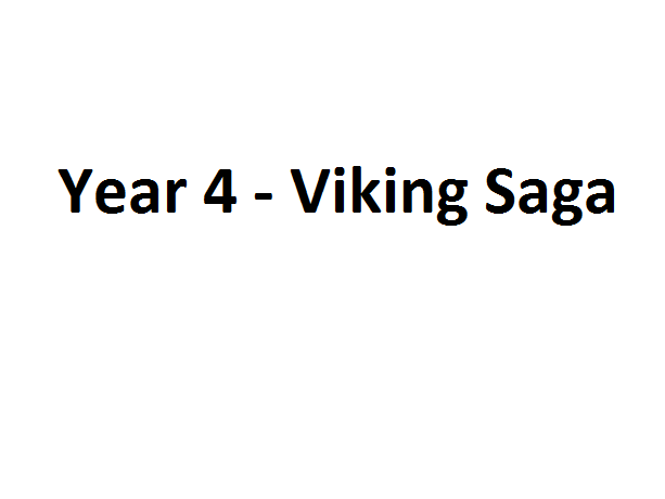 Literacy Learning Plan Year 4 Viking Saga
