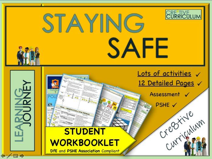 Staying Safe PSHE Work Book