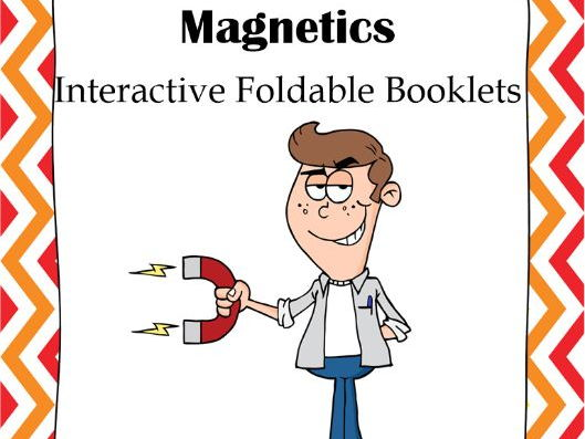 Magnetics Interactive Foldable Booklet
