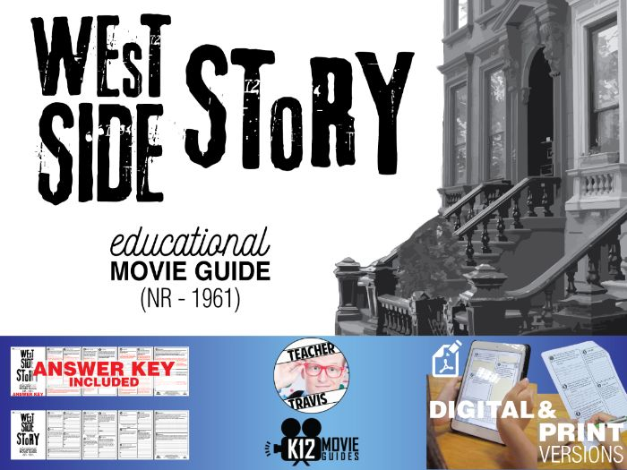 West Side Story Movie Guide | Questions | Worksheet (NR - 1961)