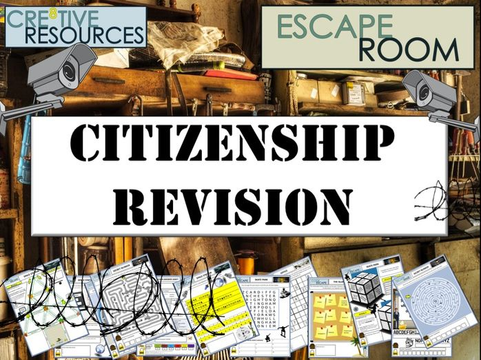 GCSE Citizenship Revision - Escape Room