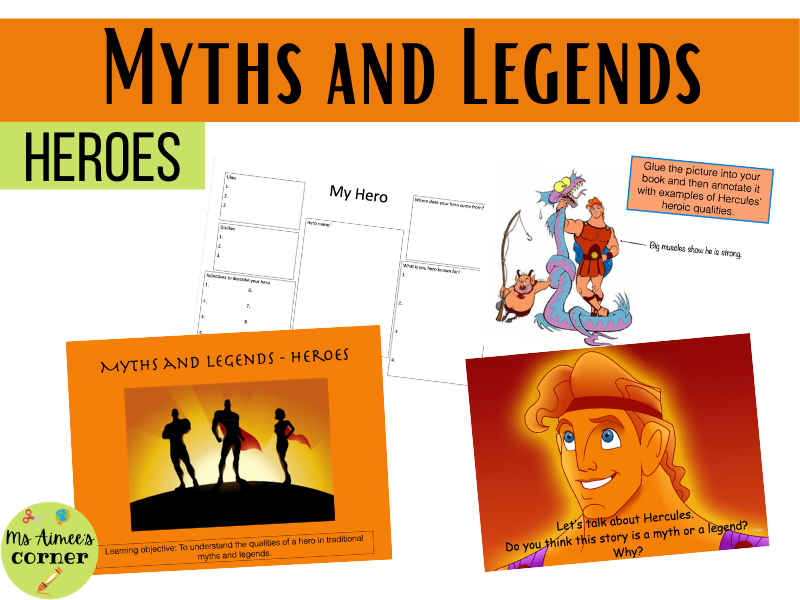 Myths and Legends: Introduction to Heroes