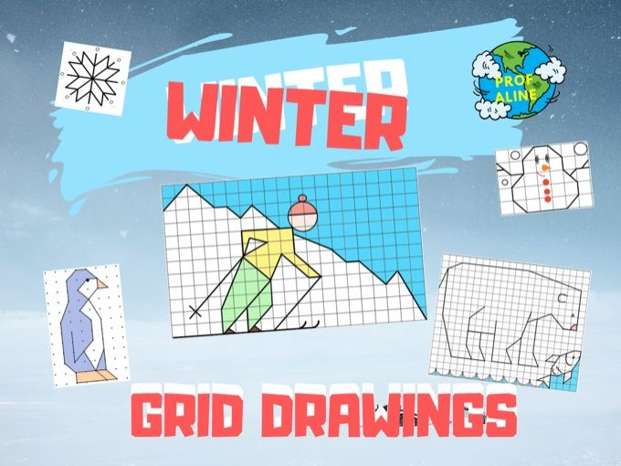 Winter Grid Drawings