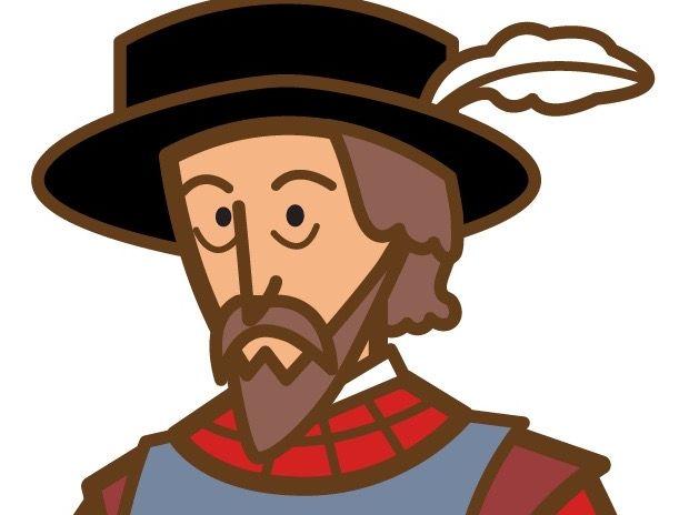 Spanish Biography Bundle: 4 Conquistadores: De Soto, De León, Cortés, Colón