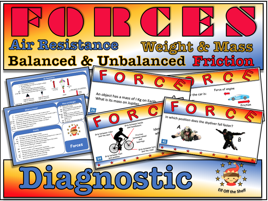 Forces Diagnostic Tool for KS3