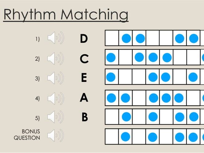 Rhythm and Pulse Lesson
