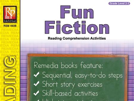 Fun Fiction Reading Comprehension