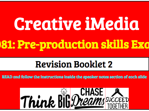 R081 Pre Production Skills Revision 2