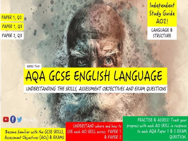Pupil Revision Guide, NEW AQA GCSE English Language, AO2 Language & Structure (ebook)