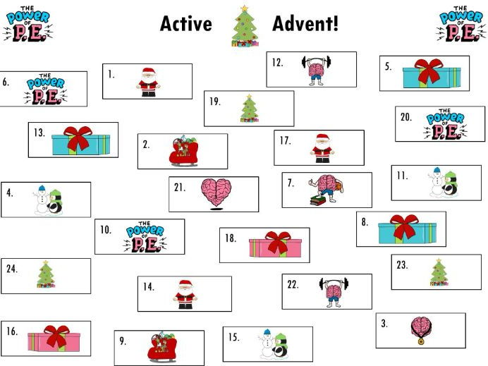 Active Advent!