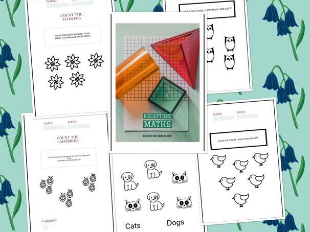 Reception Maths Activity Book