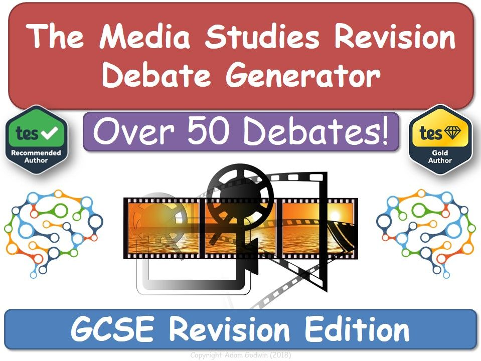 GCSE Media Studies Revision Debate Generate [Media Studies Revision]