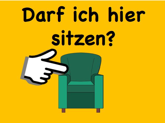 German Classroom Phrases Display