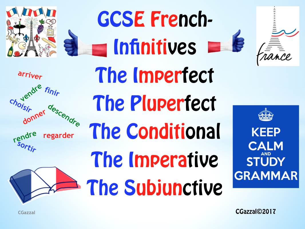 Verbs and Tenses for French GCSE
