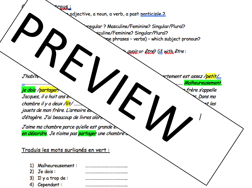 KS4 - new iGCSE - gap fills/writing tasks - whole textbook completed!