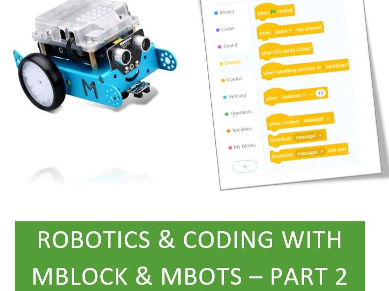 More robotics & coding using mBots and mBlock
