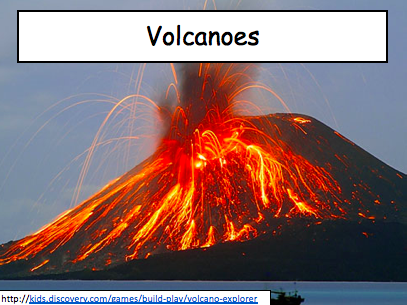 Tectonics KS3: Tectonic plates and Volcanoes