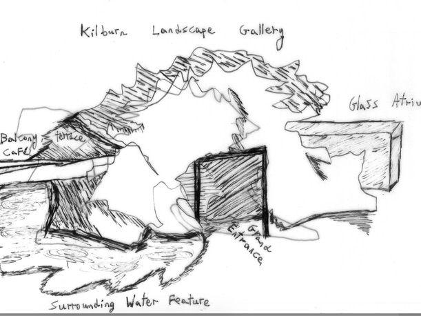 frank gehry  u0026 form - graded outstanding l1 of 2 - drawing by elliottwalker