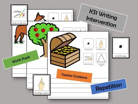 Sentence Writing Intervention Work Pack