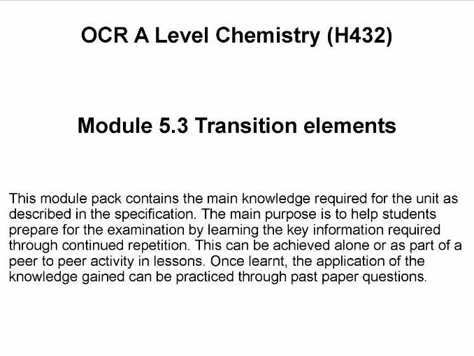 The periodic table new aqa gcse by sr276 teaching resources tes ocr a level chemistry h432 module 53 transition elements urtaz Images
