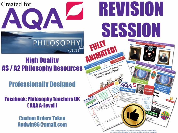 What is Knowledge? ( AQA Philosophy ) Epistemology Revision Session AS / A2 / KS5 - Many Activities