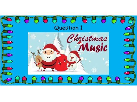 An Awesome Christmas Quiz - Christmas Music  (4)