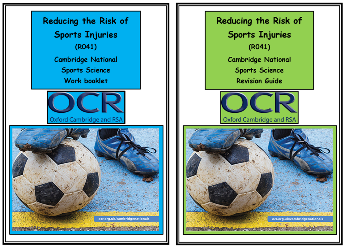OCR Cambridge National in Sport Science - R041 - Reducing the Risk of Sports Injuries - Bundle