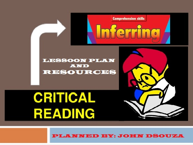 INFERRING MEANING LESSON AND RESOURCES