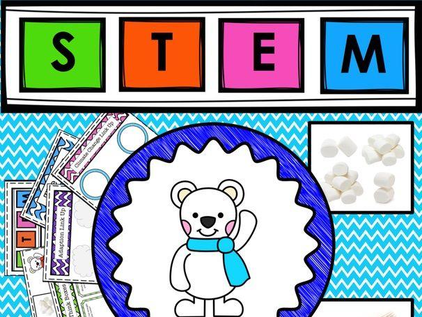 STEM Build a Polar Bear a Home