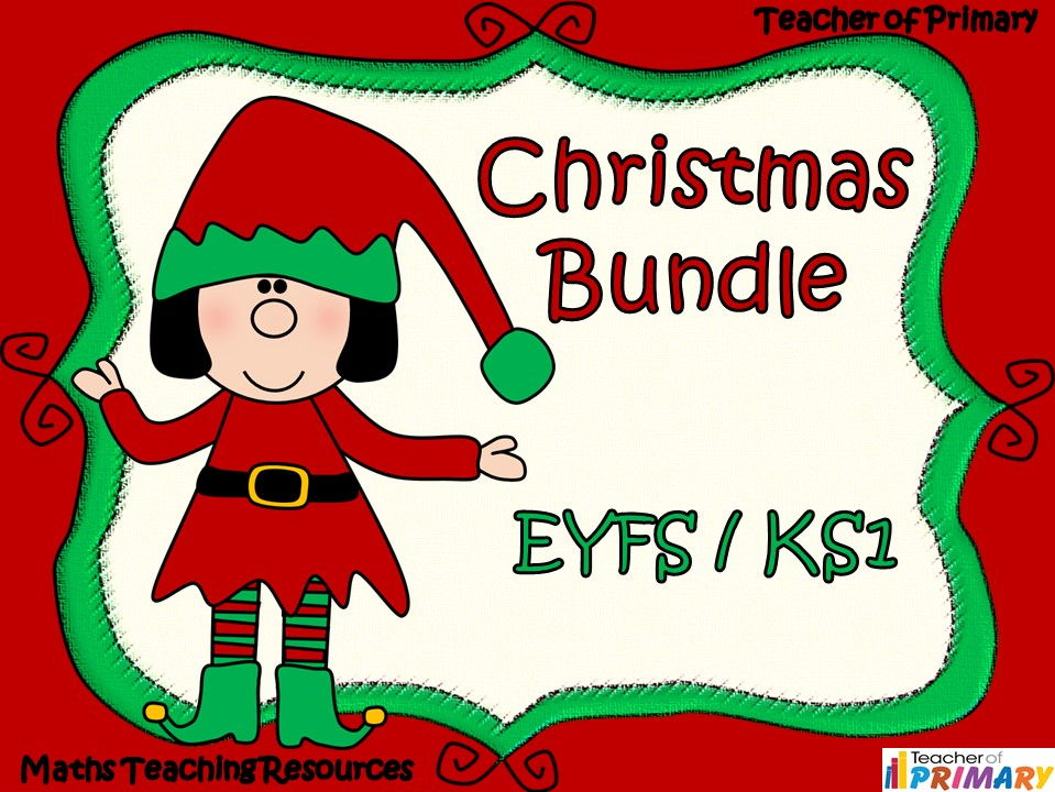 Christmas Crackers Cartoon.Christmas Bundle Eyfs Ks1