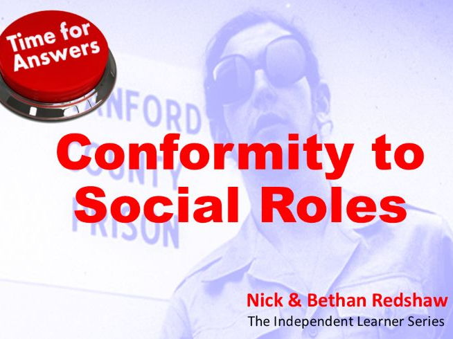 Workbook Answers - Conformity to Social Roles