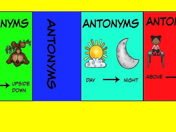 Antonyms instant classroom display