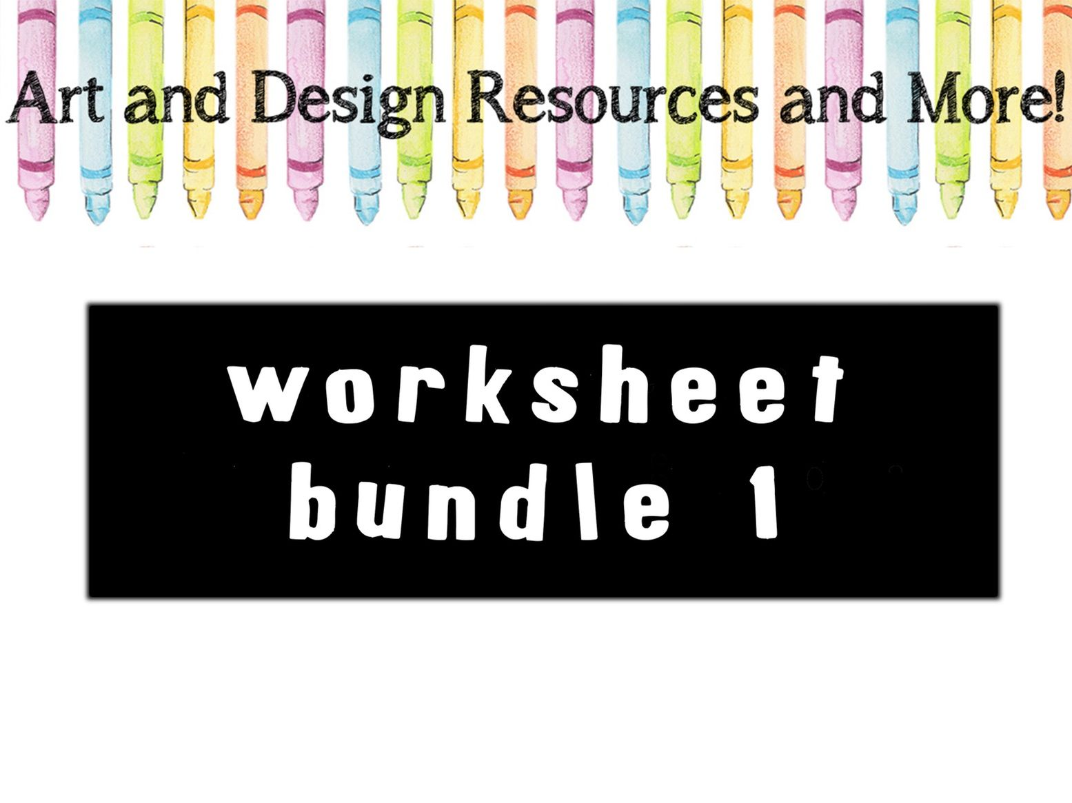 Worksheet bundle 1