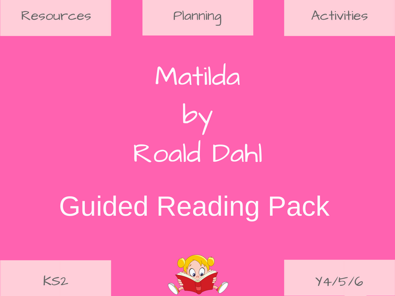 Matilda-Guided Reading Resources