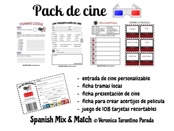 Spanish Mix Match Teaching Resources Tes