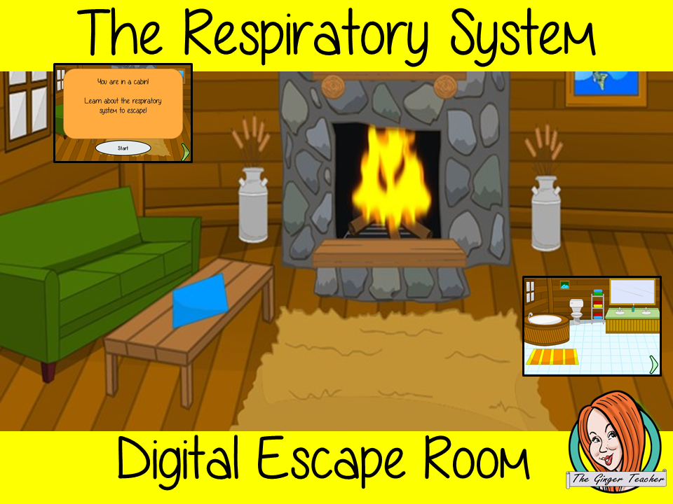 The Respiratory System Science Escape Room