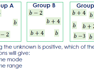 Crossover with Algebra, Mode and Range