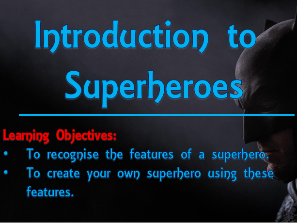 Create a Superhero