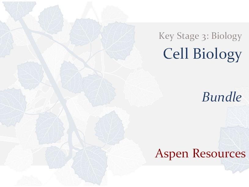 KS3 - Cell Biology - Bundle