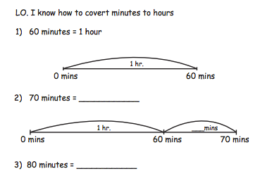 Converting Time Hours and Minutes Differentiated