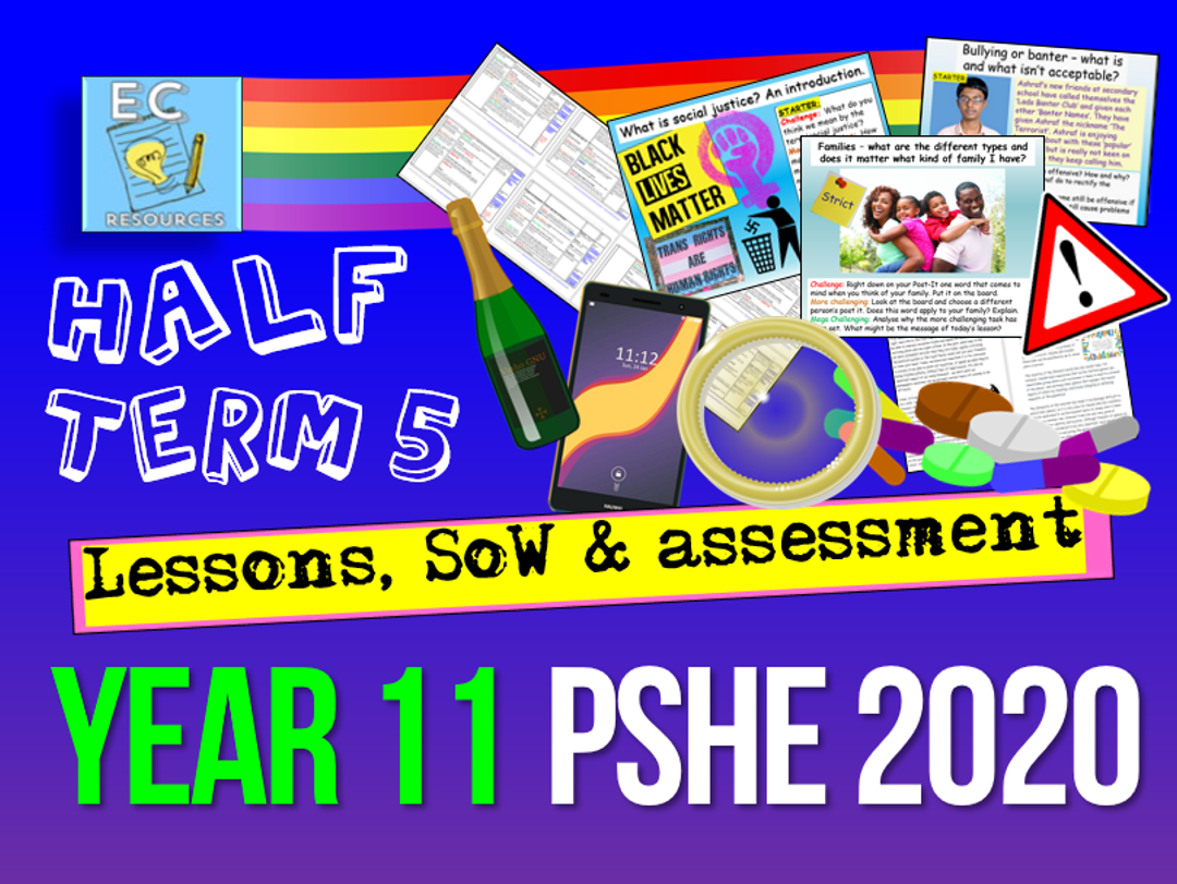 Year 11 PSHE SoW 5