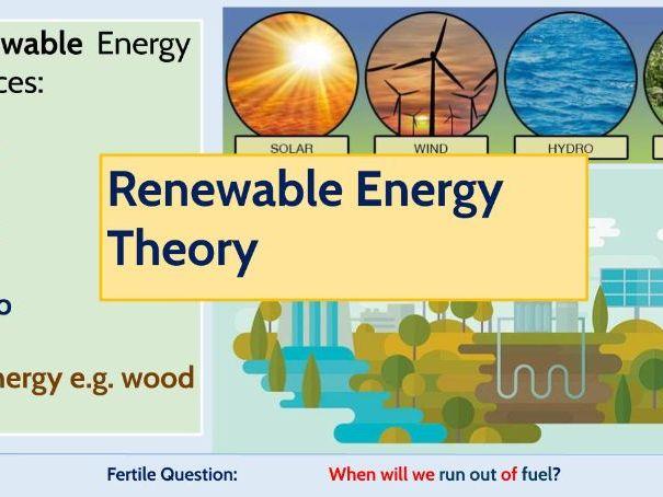 Sustainable Energy Theory
