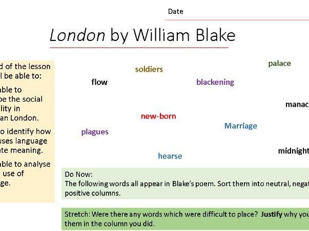 London (Blake) bundle (AQA)