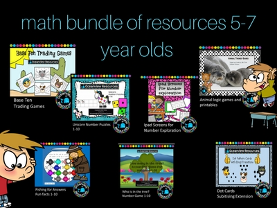 Math Bundle for Early Grades