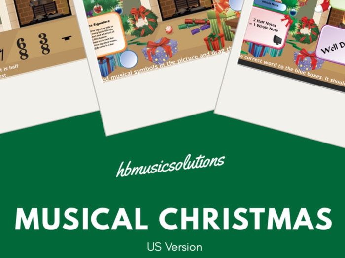 Musical Christmas US Version Interactive Game