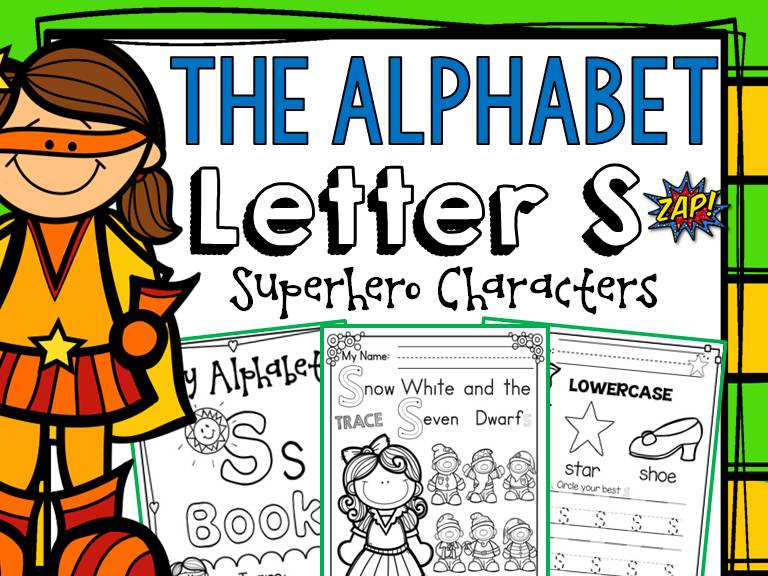 PHONICS: THE ALPHABET: LETTER S